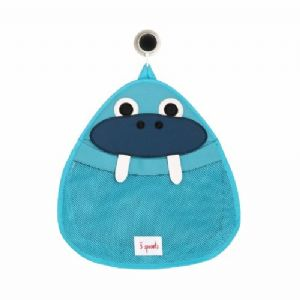 3 Sprouts Bath Storage - Walrus Blue